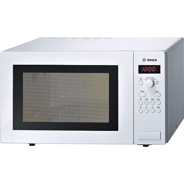 Bosch HMT75M421B Encimera 17L 800W Blanco - Microondas ...