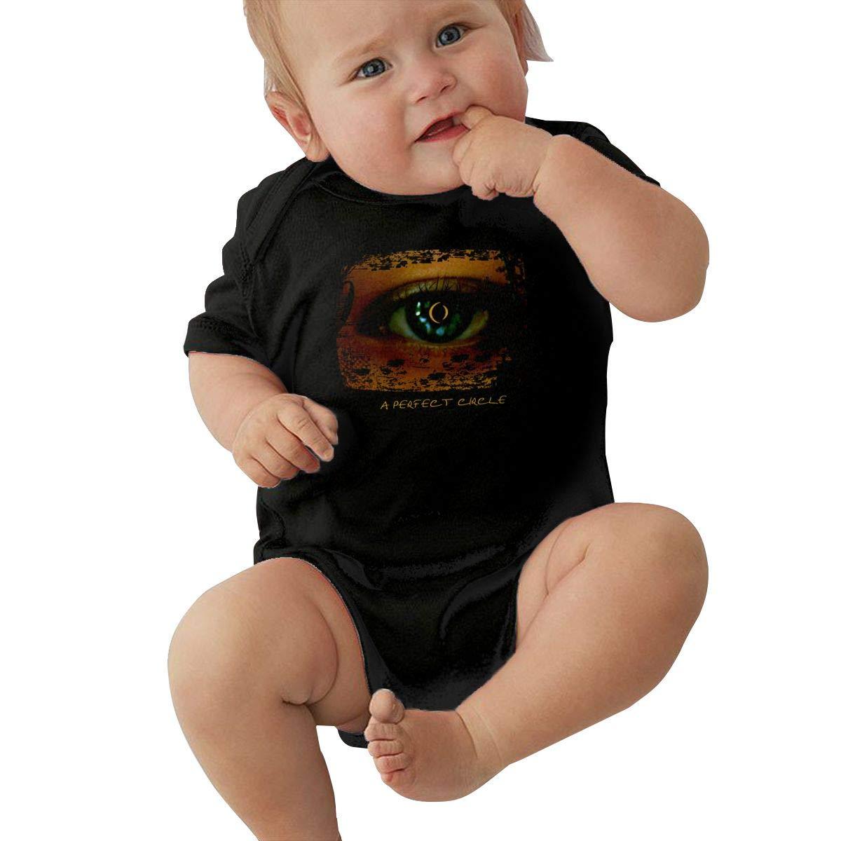 Joseph E Hinton A Perfect Circle Unisex Cute Infant Bodysuit Baby Romper Shirt for 0-24 Months