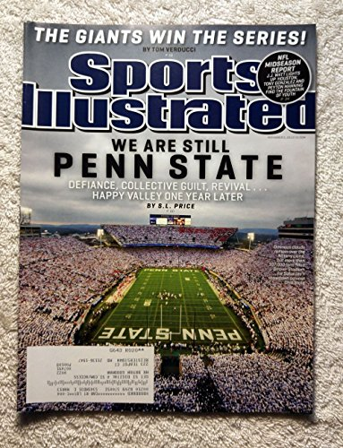 We Are Still Penn State - Defiance, Collective Guilt, Revival … Happy Valley One Year Later - Sports Illustrated - November 5, 2012 - San Francisco Giants 2012 World Series - Shops Valley Happy