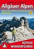 Allgäuer Alpen: Höhenwege. Mit Heilbronner Weg, Mindelheimer und Hindelanger Klettersteig (Rother Wanderführer)