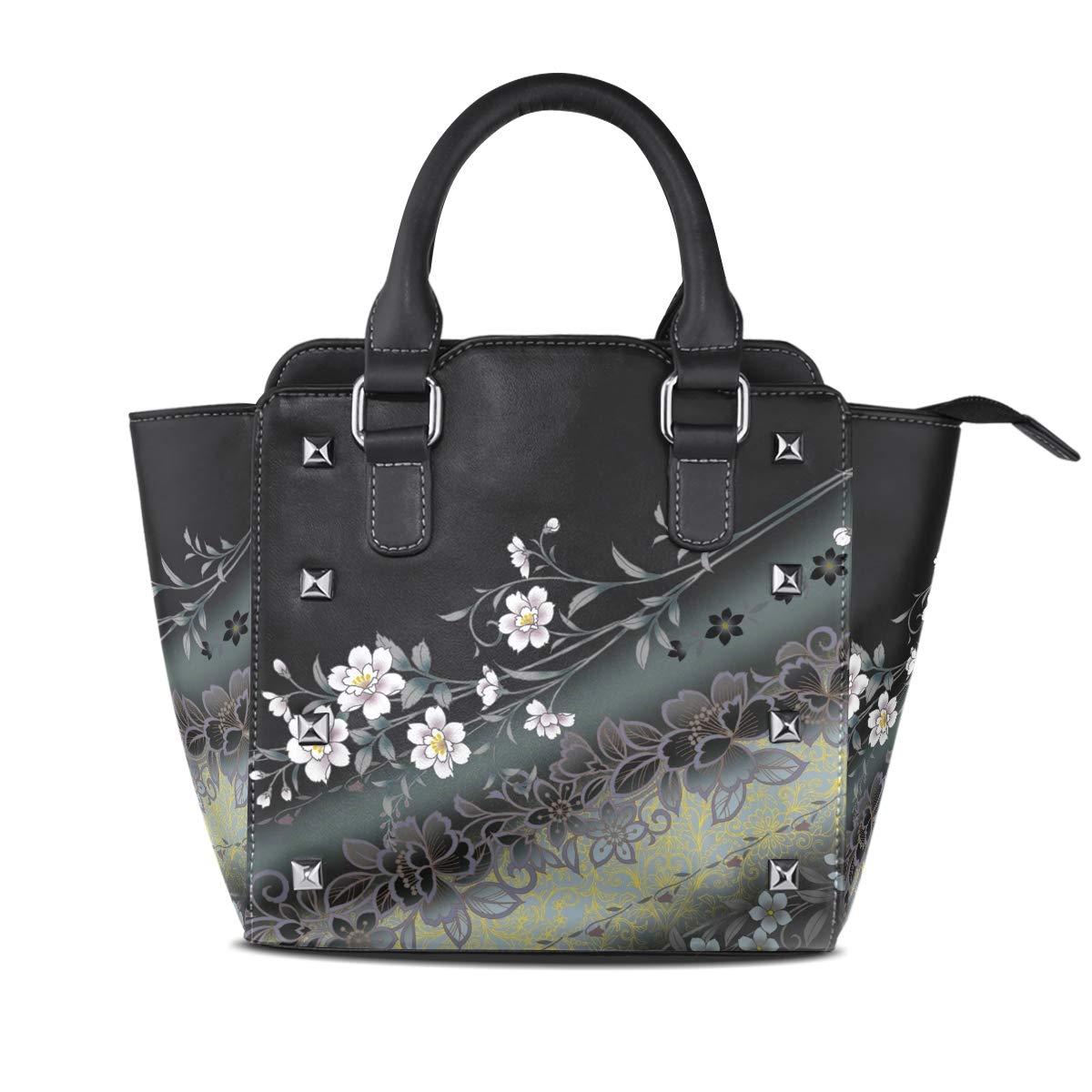 Design3 Handbag colorful Dream Catcher Genuine Leather Tote Rivet Bag Shoulder Strap Top Handle Women