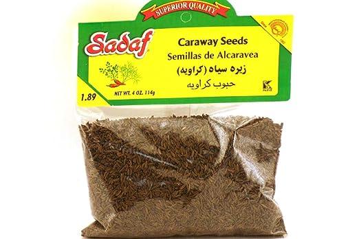 Comino Semillas (semillas de alcaravea) – 4oz (Pack de 3 ...