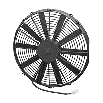 "Spal 30101516 16"" Straight Blade Low Profile Fan: Automotive"