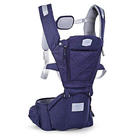 Mochila ajustable para bebé, mochila ergonómica para bebé recién ...