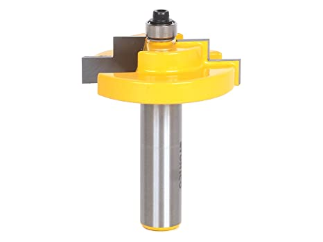Yonico 18126 Picture Frame Rabbet Router Bit 1/2-Inch Shank ...