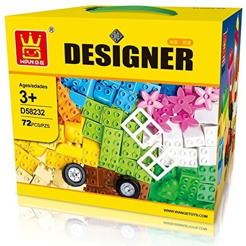 Little Builder Designer Building Bricks Toy, Large