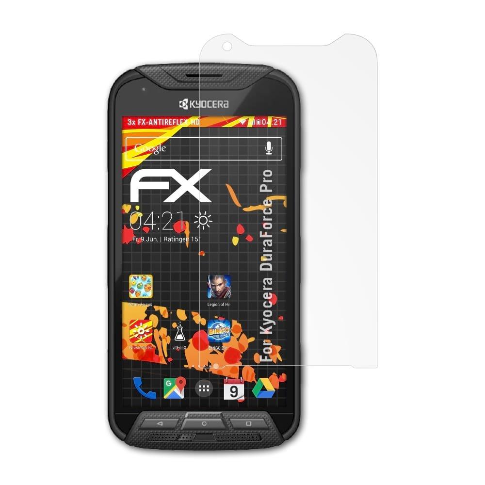 atFoliX Protector Película Compatible con Kyocera DuraForce Pro ...