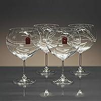 Juego 4 Copas de Cristal para Gin&Tonic