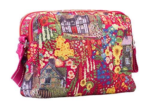 Oilily Cottage S Shoulder Bag Fuchsia