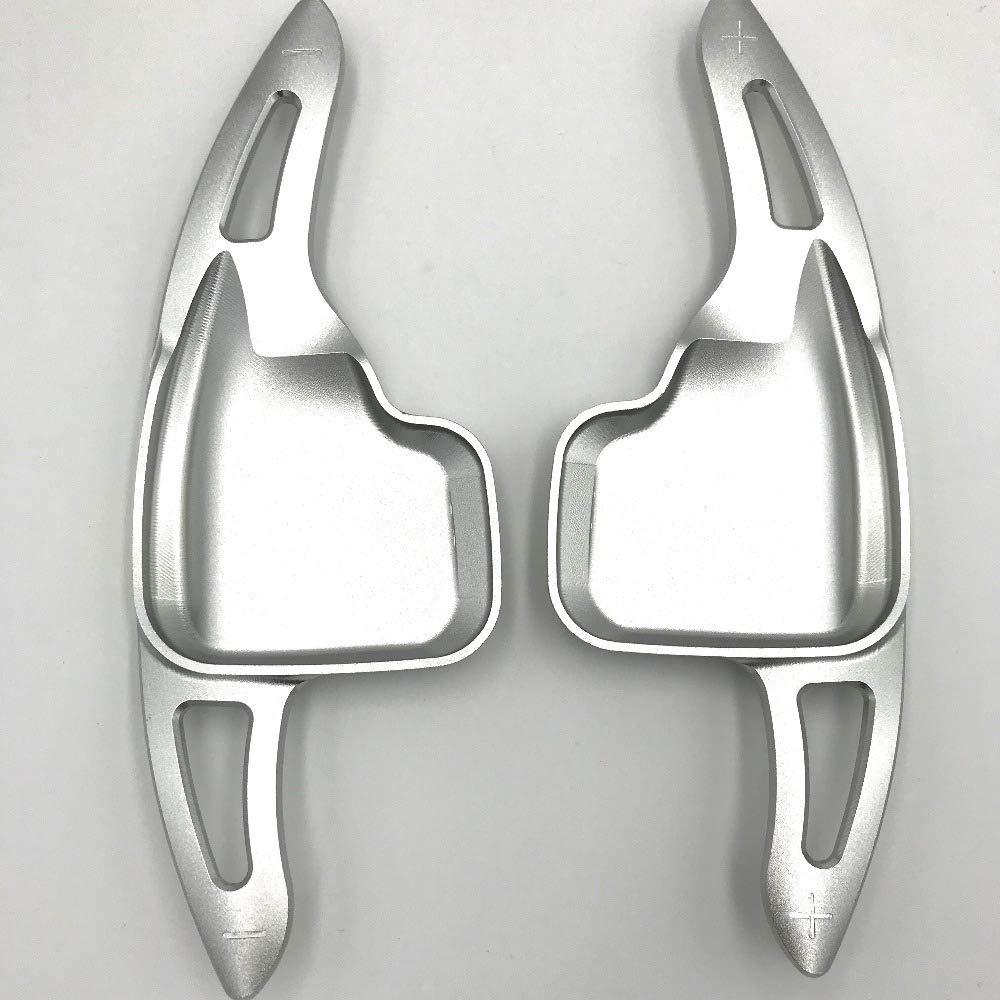 HCDSLSN 2pcs//Pair Aluminum Steering Wheel Shifter Gear Shift Paddle for BMW F30 F31 F32 F10 F20 F22 F15 F16 X1 X3 X4 X5 X6