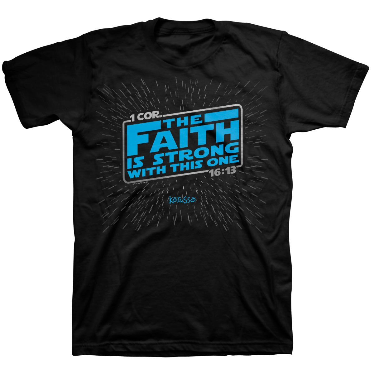 The Faith is Strong, Tee, LG, Black - Christian Fashion Gifts