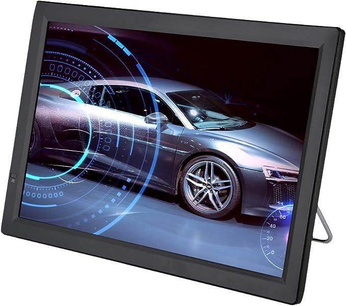 Televisión LCD portátil de 14 Pulgadas, TV analógica con TV 1080P HD con baterías Recargables de 1800 mah y Antena para habitación, Cocina, ...