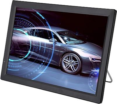 Televisión LCD portátil de 14 Pulgadas, TV analógica con TV DVB-T-T2 1080P HD con baterías Recargables de 1800 mah y Antena para habitación, Cocina, Caravana,Coche,etc. (14