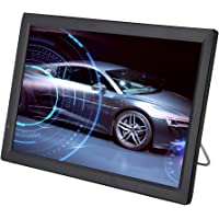 "Lazmin 14"" LED Portable Digital TV, DVB-T-T2 16:9 PVR 12V 1080P Car Digital TV Television Player UK"