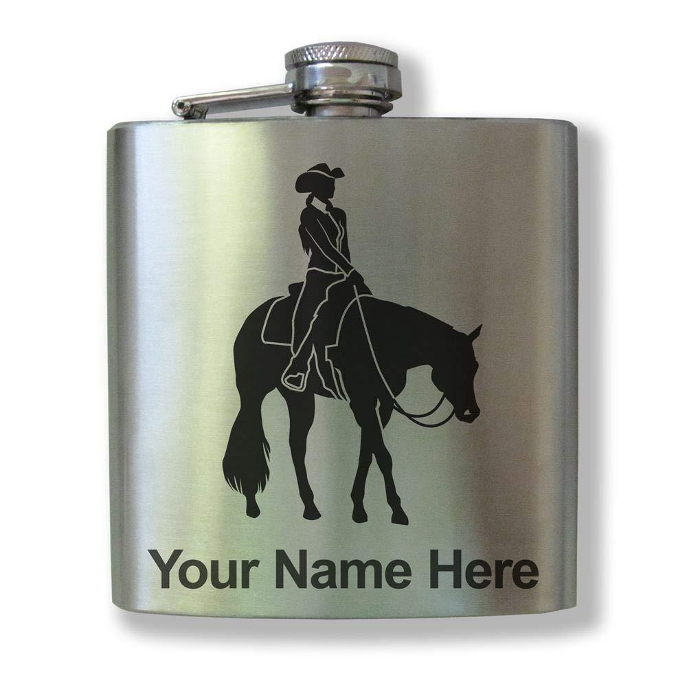 【メール便無料】 ステンレススチールフラスコ – Western Western – Pleasure Horse – Horse カスタマイズ彫刻含ま B01M6ZZ71D, 銀河家具999:33dfbc6a --- preocuparse.me