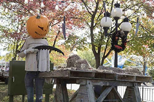 Photo | In keeping with a favorite American autumnal theme, King's Island theme park in Mason, a northeastern suburb of Cincinnati, Ohio, adds spooky Halloween props to its grounds 1 -