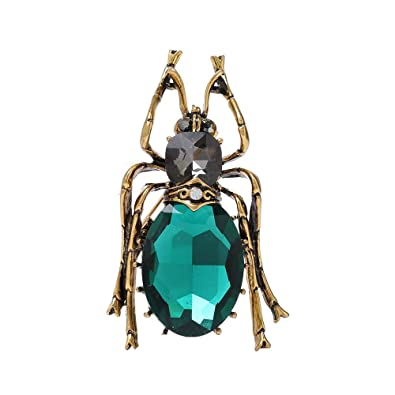 Amazon.com: Dwcly Chic Insect Brooch Pin Cool Beatles ...