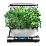 AeroGarden Harvest Elite with Gourmet Herb Seed Pod Kit Stainless Steel