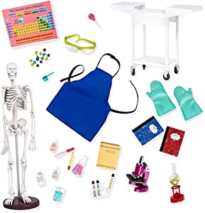 "Our Generation by Battat- Schoolroom Science Lab for 18"" Dolls- Toys, Playsets & Accessories for Ages 3 Years & Up"