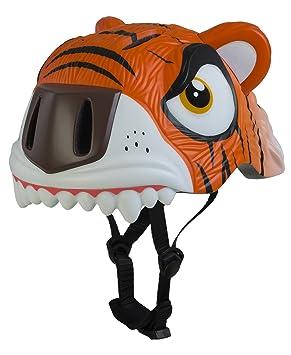 Crazy Safety – Casco de protección Casco infantil – Cooler Tiger, muchos colores, todo