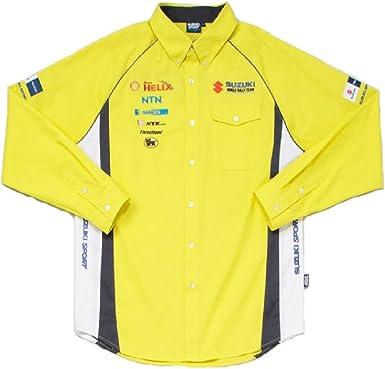 Suzuki - Camisa casual - para hombre: Amazon.es: Ropa y accesorios