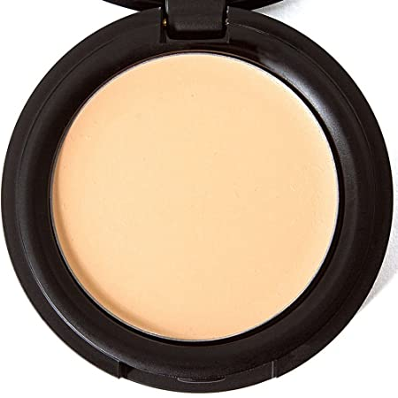 Concealer Cream Full Coverage Organic Makeup Best For Under Eye Dark Circles, Blemishes, Acne, Rosacea On Face From Fair Light Dark Shades – Golden Sand