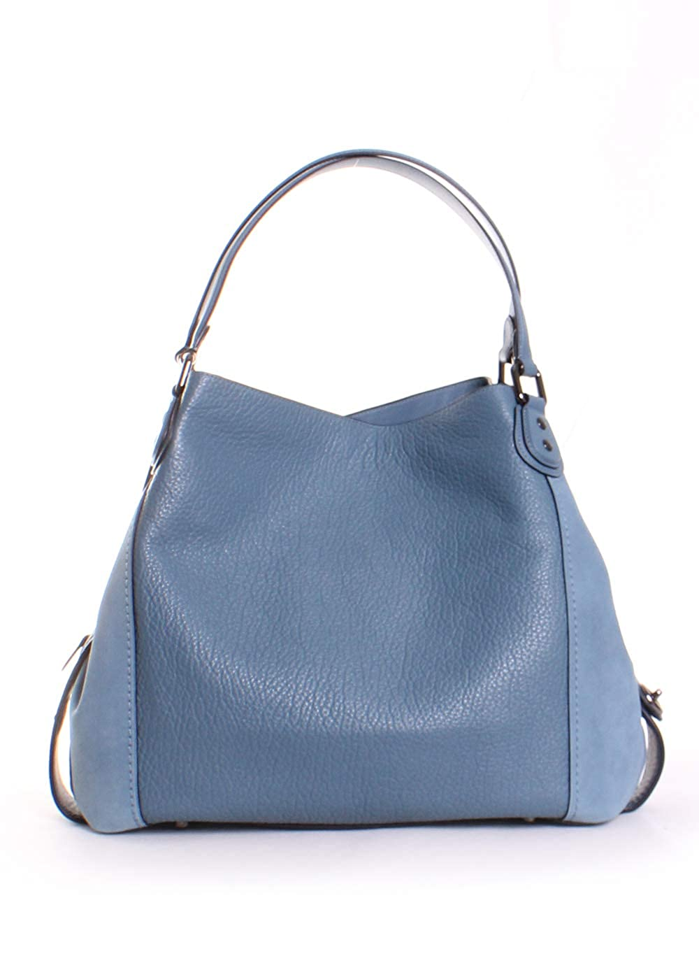 34f0ccc2 Amazon.com: Coach Edie Shoulder Bag 42 in Dark Gunmetal/Chambray ...