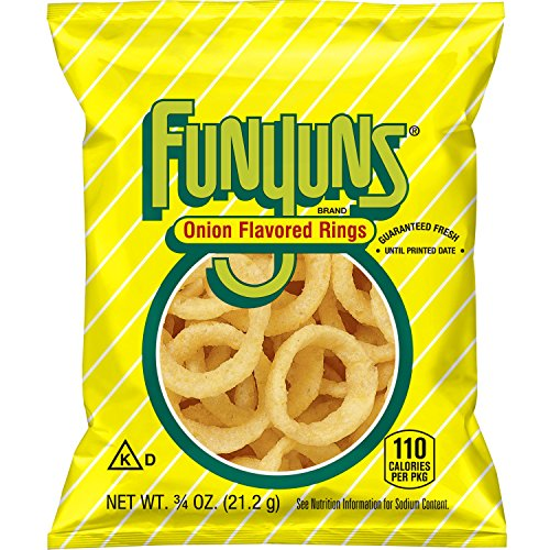 Funyuns Onion Flavored Rings, .75 Ounce (Pack of 40) Apex Ring