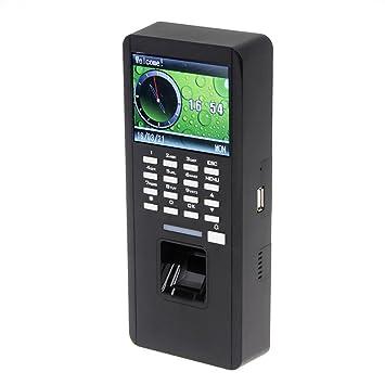 Pantalla a Color Seesii F18 7,11 cm reloj Attandance Manager huella tarjeta de identificación lector Contraseña Bloqueo puerta de acceso Control T9 Input ...