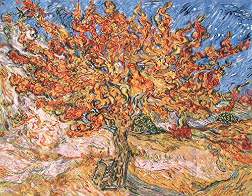 The Mulberry Tree - Van Gogh Belgian Tapestry by Charlotte Home Furnishings Inc.