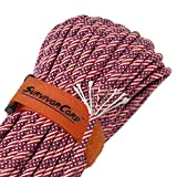 Titan SurvivorCord | Old Glory | 103 Feet | Patented Military Type III 550 Paracord/Parachute Cord (3/16'' Diameter) with Integrated Fishing Line, Fire-Starter, and Utility Wire.