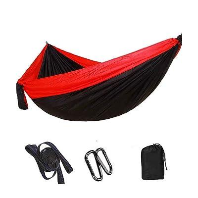 2 personnes Parachute Tissu Hamac double Personne Balançoire Voyage Randonnée Élargir Backpacking Hanging Sleeping Bed LUFA