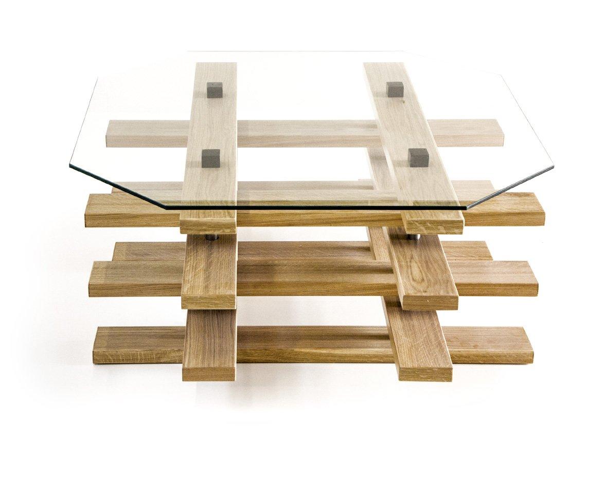 Apulien Design Scacco Klein Eiche Tisch Couchtisch Made In