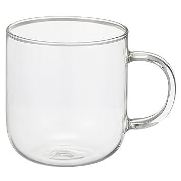 無印良品 耐熱ガラス マグカップ 約360ml