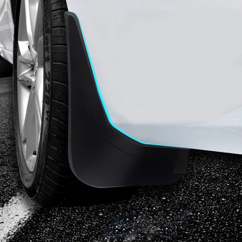 muchkey Front and Rear Custom Mud Guards for V40 Hatchback 2013 2014 2015 2016 2017 Car Mudguards mud flaps Splash Guards 4pcs//Set
