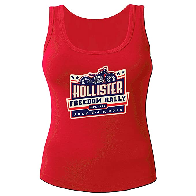Hollister Tanks Tops - Camiseta de tirantes - Mujer Rojo rosso Medium