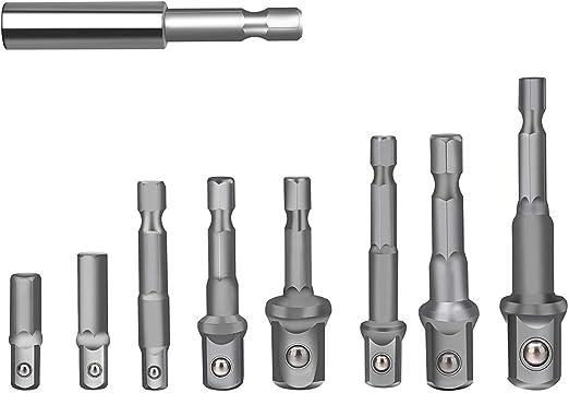 DEWALT DW2542IR 1//4-Inch Hex Shank to 3//8-Inch IMPACT READY Socket Adaptor