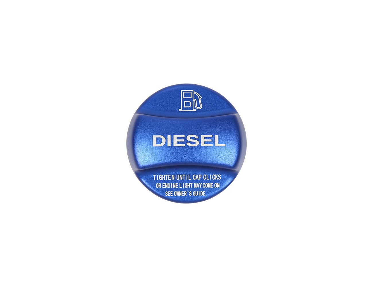 Lega di alluminio Metyoucar diesel//benzina tappo del serbatoio Trim sticker