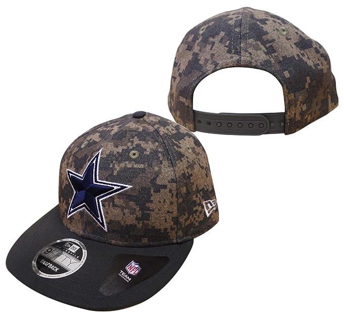 04b8a67ba Amazon.com : New Era Dallas Cowboys 9FIFTY Low Profile Classic Trim ...
