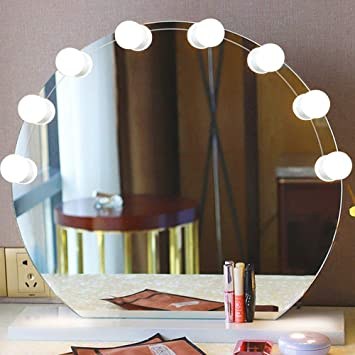 Amazoncom Hollywood Style Makeup Vanity Mirror Led Light Kit