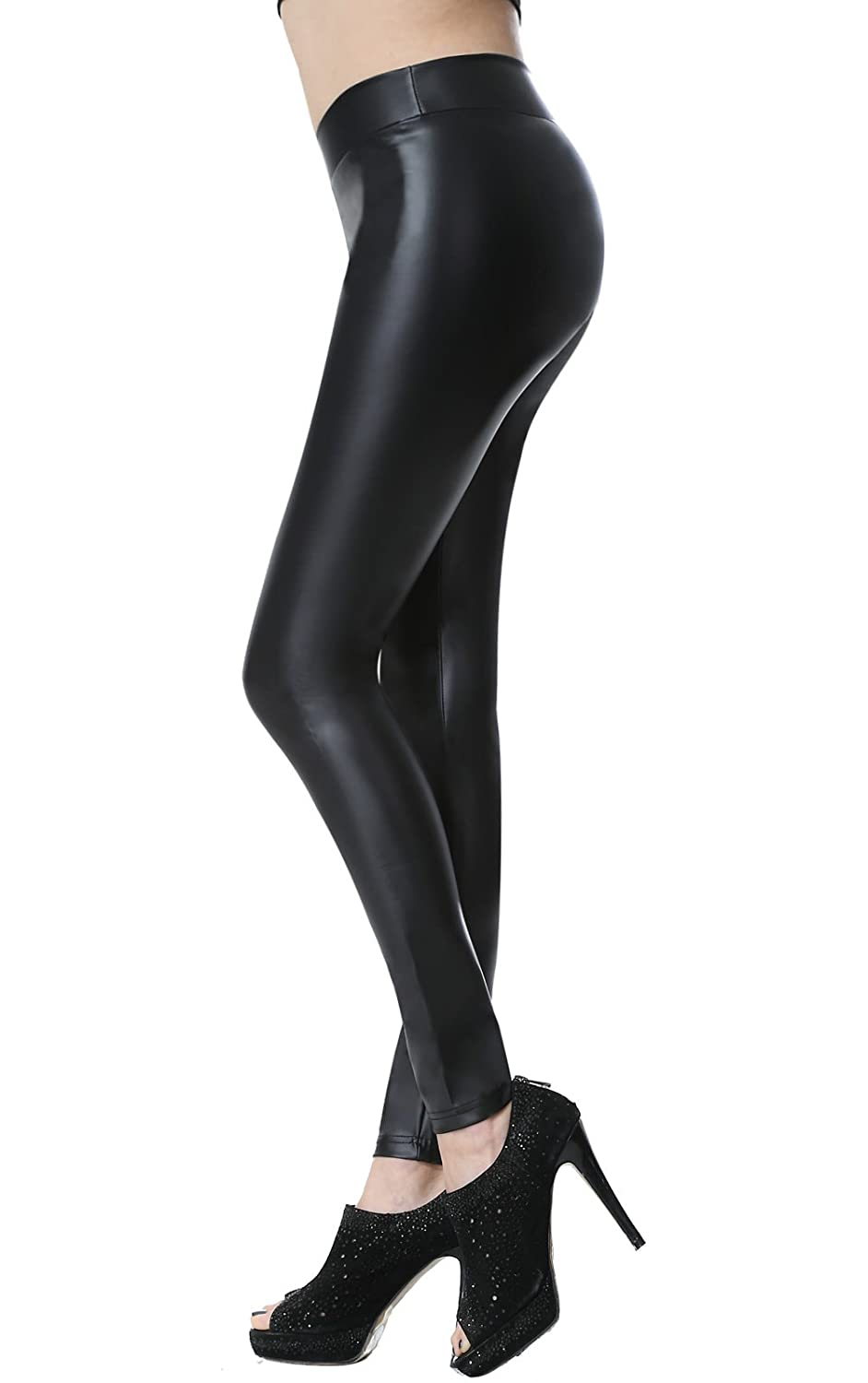 8c10fe4dbdc24 Material: High quality stretchy synthetic leggings (85% Polyester + 5%  Spandex + 10% PU). Features: Medium tight waist, wrinkle-resistant, stretchy,  soft, ...