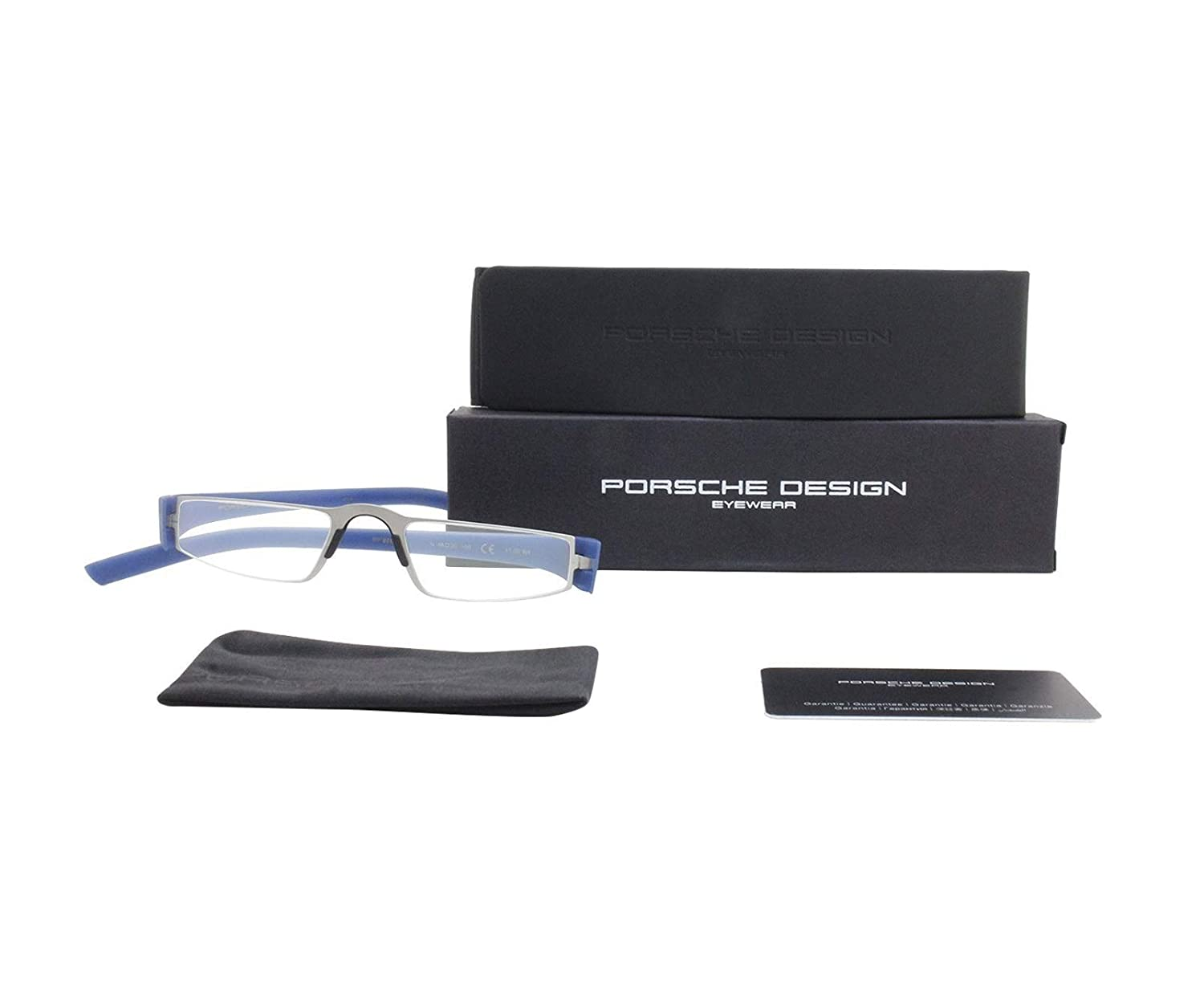 51332cfee699 Amazon.com  Porsche Design Reading glasses P8801N +2.00 Blue  Health    Personal Care