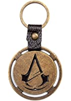 Assassins Creed Unity Keyring Keychain Logo Ps4 Xbox Official Metal