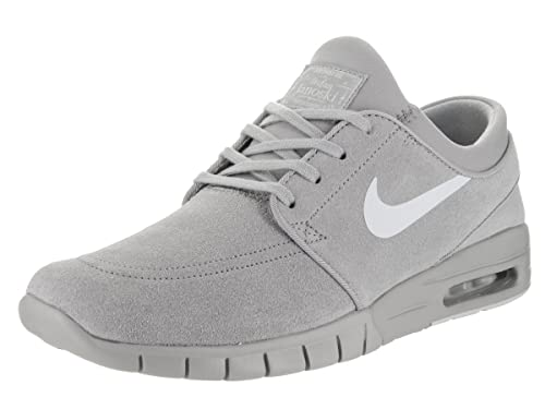 4b6f4d524521 Nike Men s Stefan Janoski Max L Matte Silver Pure Platinum Skate Shoe 13  Men US  Buy Online at Low Prices in India - Amazon.in