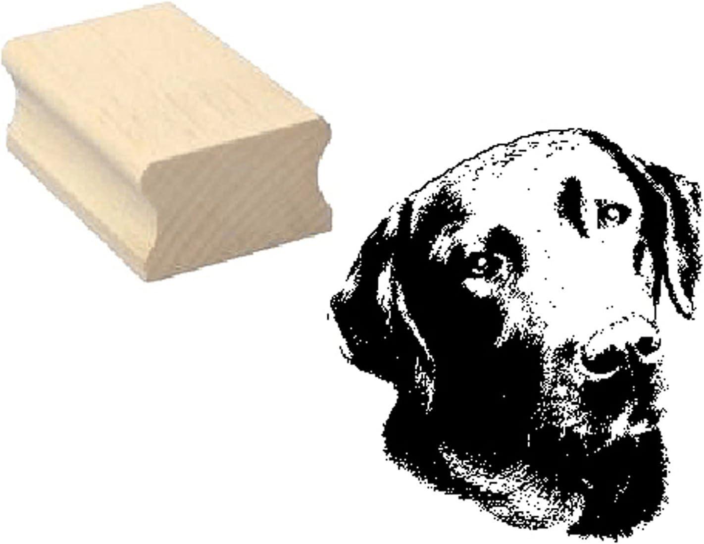 Wooden Stamp LABRADOR Dog 4 Stamp