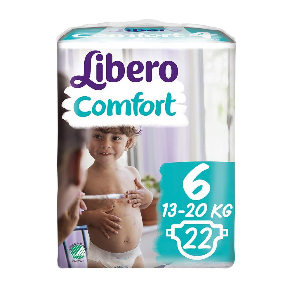 13-22 kg Libero Comfort 6 Windeln