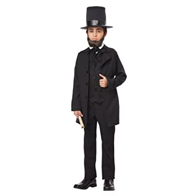 California Costumes Abraham Lincoln/Andrew Jackson Child Costume, Medium: Toys & Games