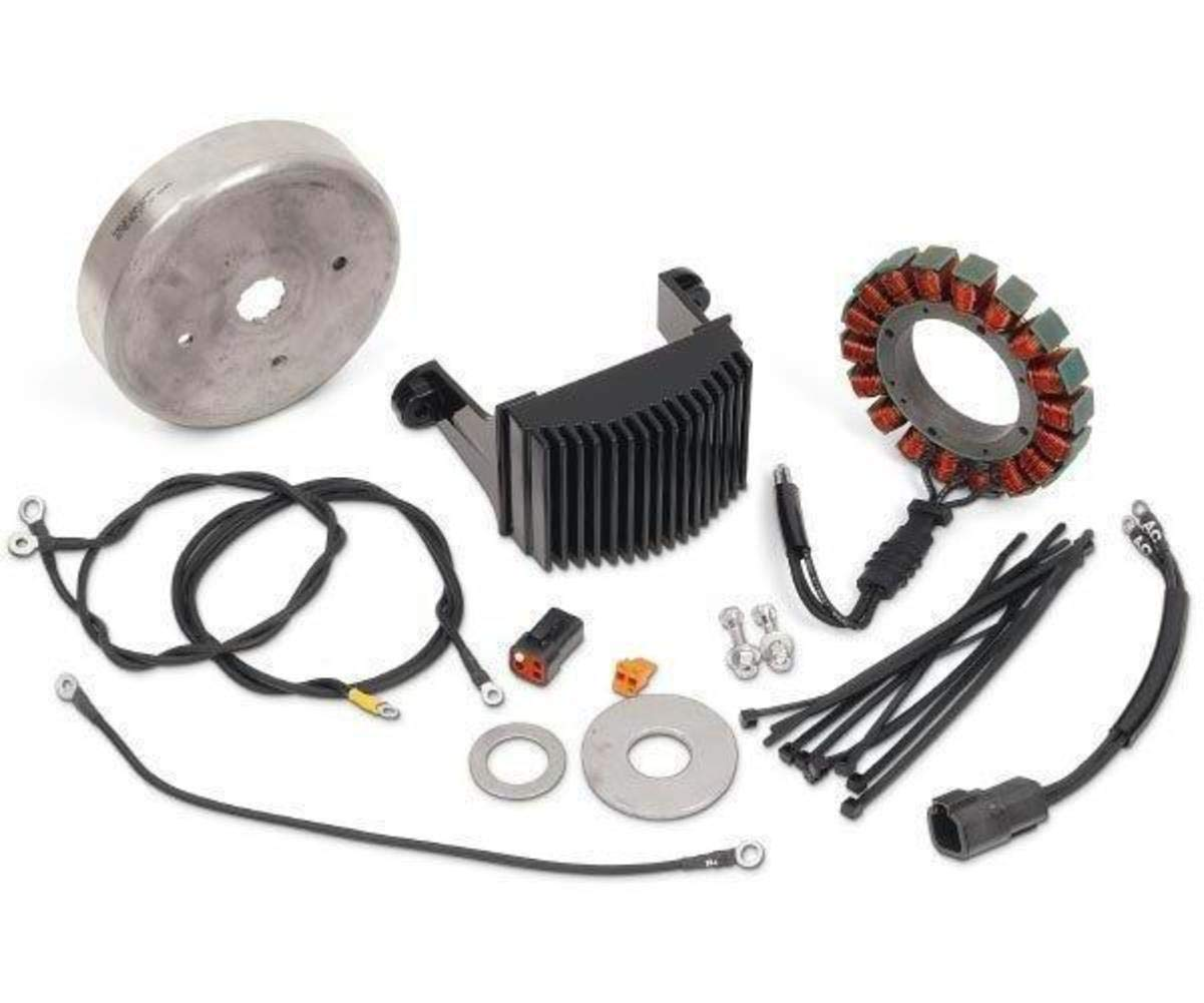 Cycle Electric 70 Series 45 Amp 3 Phase Charging Kit for Harley Davidson 2001-0