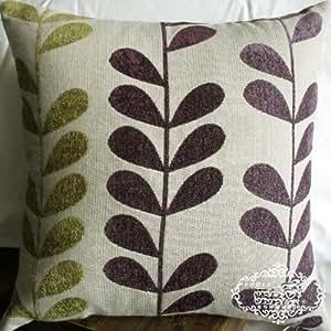 Amazon Com Elegant Decorative Throw Pillow Cover Dark