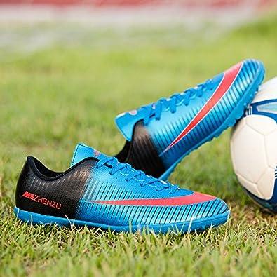 Asvert zapatillas deporte hombres,Zapatillas Fútbol Profesionales Hombre Botas de Rugby Adulto Zapatos de Fútbol Transpirable y Ligero: Amazon.es: Zapatos y ...
